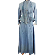 Ladies Walking Suit 1880-1900s