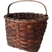 Antique Splint Basket