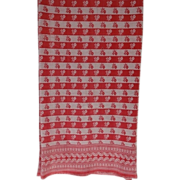 Turkey Red Tablecloth - Long