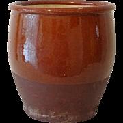 Redware Red Ware Pottery Dye Pot