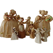 Old Corn Husk Doll Collection