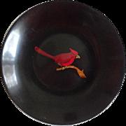 Couroc Bakelite Plastic Bowl Mid Century - Cardinal