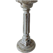 Old Doll House Vase Pedestal