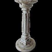 Old Doll House Vase Pedestal