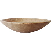 Primitive Munising Wooden Bowl