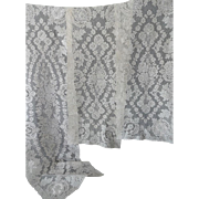 Old Alencon Lace Table Runners - Set