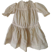 Antique Jumeau Doll Dress Circa 1880-1910