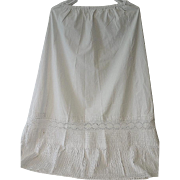 Antique Victorian Petticoat