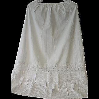 Antique Victorian Petticoat