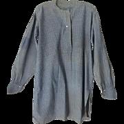 Antique Prairie Farmer's Work Shirt 19th Century