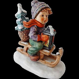 Vintage Goebel Hummel Figurine - Ride to Christmas