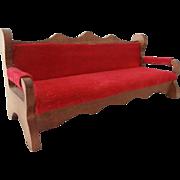 Vintage Shackman Victorian Style Sofa