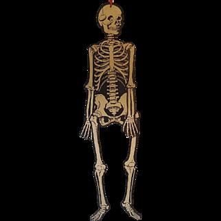 Vintage Beistle Folding Skeleton Circa 1940-1950s