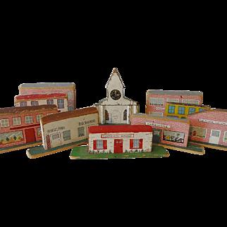 Old Wood Toy Village Rockville New York