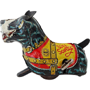 Old Marx Wee Scottie Tin Wind Up Toy