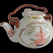 Vintage Doll House Porcelain Tea Pot