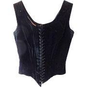 Antique Women's Outer Corset with Stays