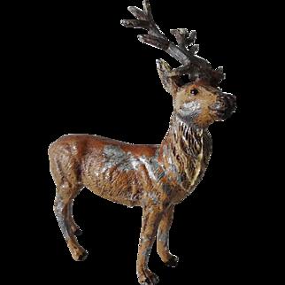 Antique German Christmas Reindeer Figures