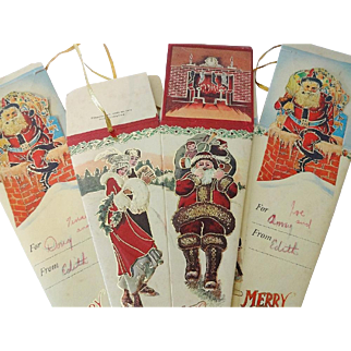 Vintage Christmas Candy Cones