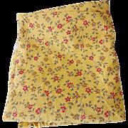 Vintage Floral Calico Cotton Print Fabric 5 Yds
