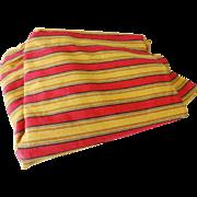 Vintage Awning Stripe Cotton Fabric 6 Yds