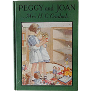 Doll's Doll House Book:  Peggy & Joan by H. C. Craddock