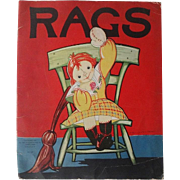 Cloth Doll Book:  Rags by Saalfield