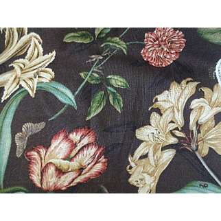 Waverly Williamsburg Collection Fabric - Somerset Botanical Print 10 Yards