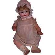"""21"""" Nippon Bisque Head and Composition Baby Doll"""