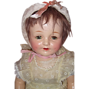 """Nice 21"""" Composition Doll"""