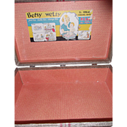 HTF IDeal Betsy Wetsy Large Travel case- Trunk for Larger Doll