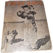 "Effanbee Patsy Ann Composition Doll Book ""Her Happy Times"" 1935"