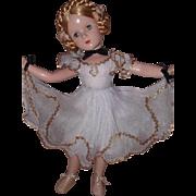 Beautiful Karen Ballerina Composition Doll by Madame Alexander
