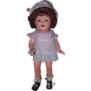 """Rare Effanbee """"Marked"""" Betty Brite Composition Doll"""