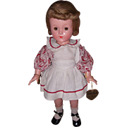 Excellent Effanbee Factory Little Lady Composition Doll w/ tag