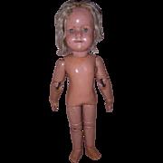 """Schoenhut TLC 14"""" Doll"""
