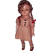 Effanbee Factory Patricia Composition Doll