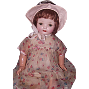 "Beautiful 22"" Composition Mama Doll"