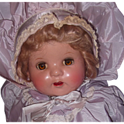 "Factory Tagged 21"" Beautiful Composition Mama Doll"