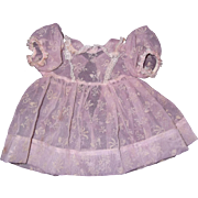 "Beautiful Molly'es Dress for 15"" Effanbee Dy-Dee Baby Doll"