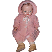 Factory Large Effanbee Baby Doll