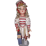 "Effanbee 27"" Honey Composition Doll"