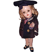 Factory Tagged nancy Sailor by Arranbee Composition Doll