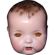 "Effanbee 20"" Mold 1 Dy-Dee Baby HEAD Only"