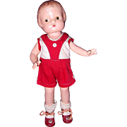 Factory Effanbee Patsyette Composition Doll