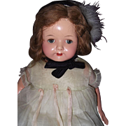 "Effanbee Factory Original 23"" Composition Mama Doll"