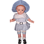 "Effanbee Factory Patsy Patricia 14"" Composition Doll"