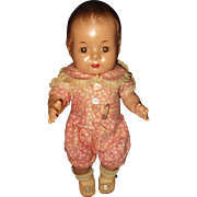 "Factory Orig Dionne Quintuplet 11"" Composition Baby Doll ~ Adorable"