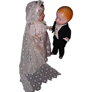 Congratulations to the Beautiful Composition Bride & Groom Dolls