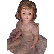 Large Beautiful Composition Mama Doll
